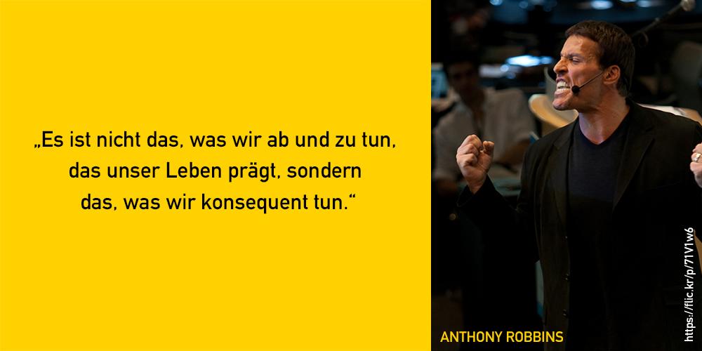 Anthony Robbins Zitat
