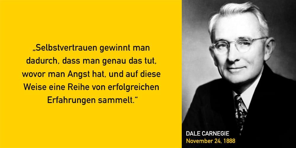 Dale Carnegie Zitat