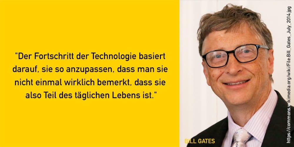 Bill Gates Zitat